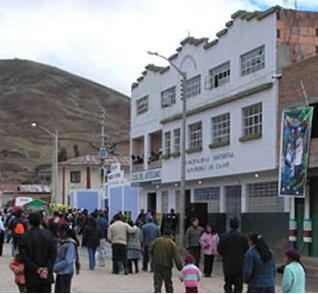 Palacio Municipal de San Pedro de Cajas