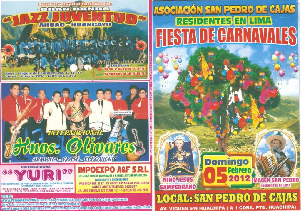 Fiesta de Carnavales 2012