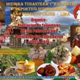 MISTURA TUNATERA Y ENCUENTRO DEPORTIVO INTERBARRIOS  AL ESTILO